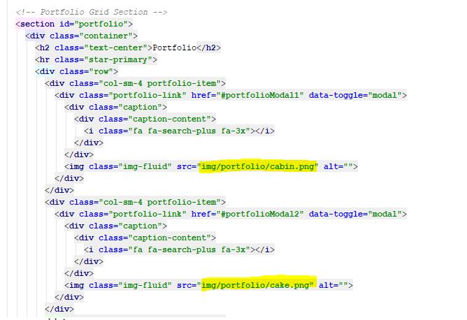 Portfolio Code