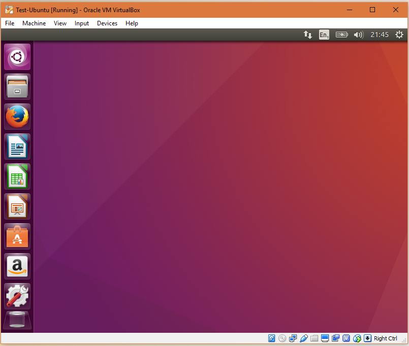 Ubuntu is installed. Enjoy