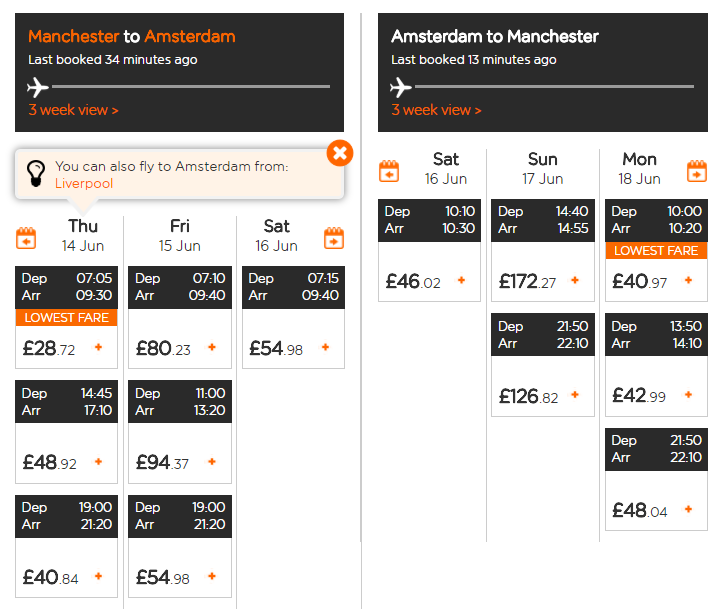 easyJet Offer
