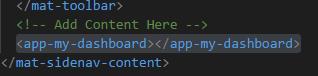 Add dashboard element