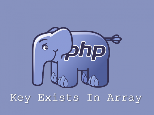 PHP check key exists in array