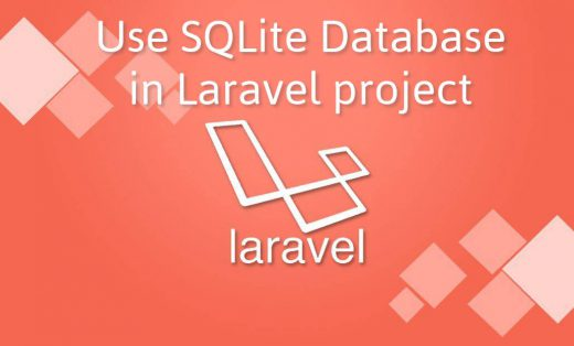 Use SQLite Database in Laravel project