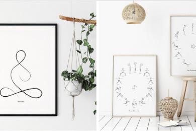 Minimalistic & Eco-friendly Wall Art and Greeting Cards - CraftyWolfByIulia