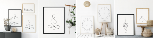 Minimalistic & Eco-friendly Wall Art and Greeting Cards - CraftyWolfByIulia